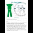 Apuka szűlő-szett III. VIP csomag zöld színben, FFP2 védőmaszkkal