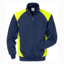 FUSION 7048 SHV félig cipzáras pulóver UV védelemmel