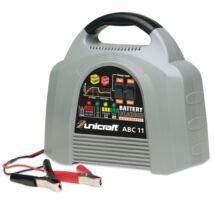 Unicraft ABC 11 – Automatikus akkumulátortöltő/karbantartó elektronikus vezérléssel savas, zselés és AGM akkumulátorokhoz