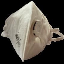 Védőmaszk FFP2 NR D, légzést könnyítő szeleppel