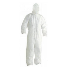 PP-50 kapucnis overall, vegyileg tisztítható, légáteresztő polipropilén anyagból