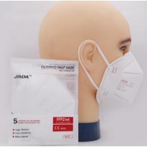 JIADA FFP2 NR védőmaszk légzést segítő szelep nélkül