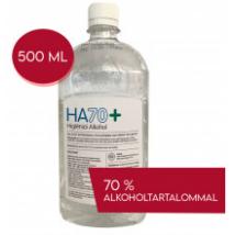 Fertőtlenítő higiéniai alkohol HA70+ 500 ml kézfertőtlenítő
