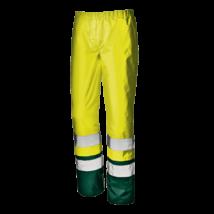 Sárga-zöld jól láthatósági deréknadrág