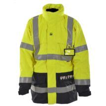 3 in1 MULTINORM lángálló, antisztatikus és vegyszerálló kabát tűzálló belső dzsekivel