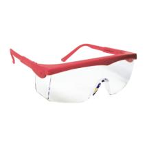 Pivolux- Piros keretes víztiszta védőszemüveg