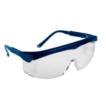 Pivolux- kék keretes, víztiszta  karcmentes védőszemüveg