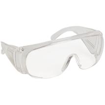 Visilux- víztiszta lencsés védőszemüveg korrekciós szemüveg fölé
