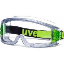 Uvex Ultravision védőszemüveg- víztiszta, karc-és páramentes, vegyszer és hőálló