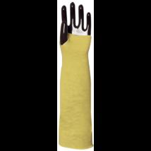Kötött sárga Kevlar kavédő hő- és vágásbiztos 35 cm-es (5 pár)