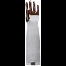 Taeki5 szürke hőálló karvédő 100C vágásbiztos 5-ös szint, 35 cm