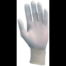Ujjbegyen poliuretán mártott kesztyű 6-10-es méretig (10 pár)