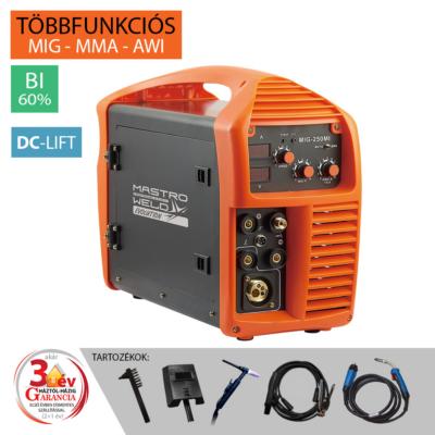 MIG-250 MI (DC-Lift) Multifunkciós inverter (Evolution)