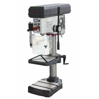 Fúrógép OPTIMUM B24 FT automatikus előtolással (átm.20mm, 850W/400V)