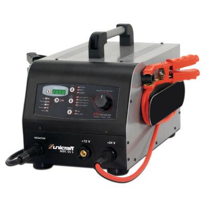 UNICRAFT MBC 55 S akkumulátortöltő és sokfunkciós berendezés