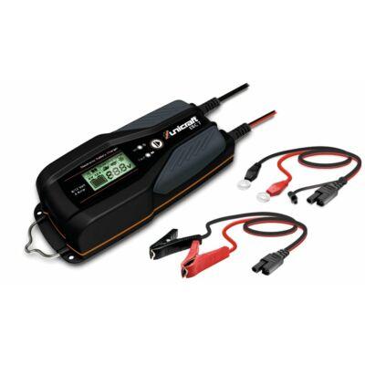 Unicraft EBC 7– Automatikus akkumulátortöltő/karbantartó elektronikus vezérléssel savas, zselés és AGM akkumulátorokhoz