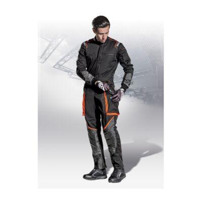 SPARCO MS 7 szerelő overall, fekete, narancs