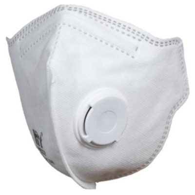 HANDANHY FFP3 NR D védőmaszk légzést segítő szeleppel