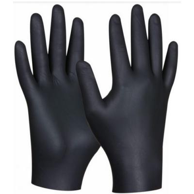 Gebol Black Nitril Ultra Strong kesztyű fekete nitrilből, M méretben