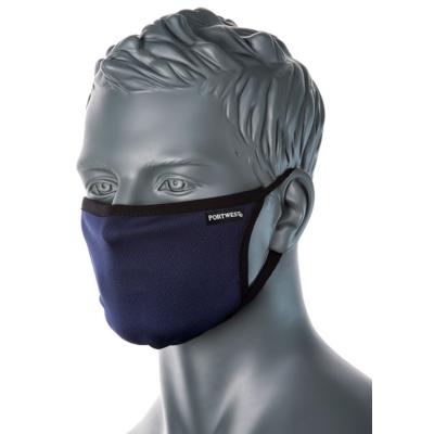 Háromrétegű anti-mikrobiális arcmaszk, NAVY színben
