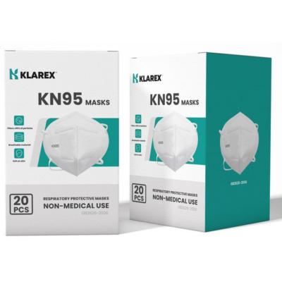 KN95 ( FFP2 ) szelep nélküli szájmaszk