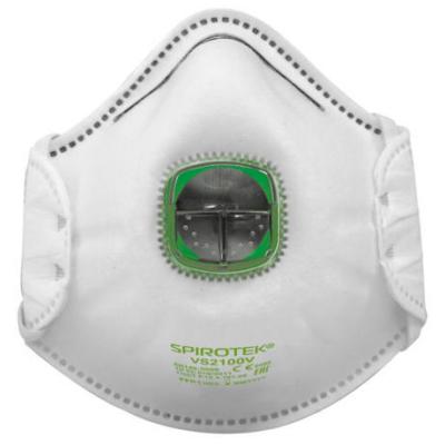 SPIROTEK VS2100V FFP1 védőmaszk légzést segítő szeleppel