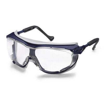 Uvex Skyguard NT por és fröccsenés ellen védő szemüveg-  víztiszta, karc- és páramentes, vegyszerálló, UV védelem