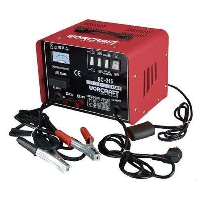 Akkumulátor töltő BC-215  40.0A, 12V/24V, Starter funkció