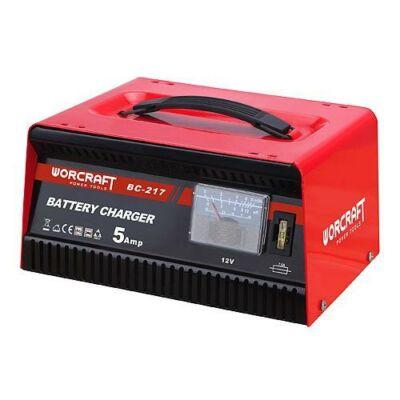Akkumulátor töltő BC-217  5.0 A, 12 V