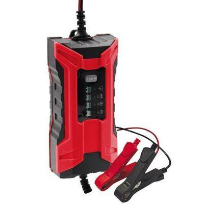 Akkumulátor töltő ST PRO, 2.0A, 6V/12V, IP65, LED