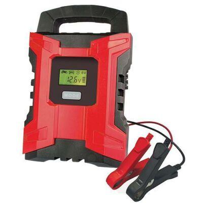 Akkumulátor töltő ST PRO  10.0A, 6V/12V, IP20, LCD