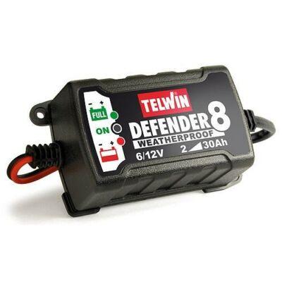 Akkumulátor töltő Telwin Defender 8,     6 – 12 V